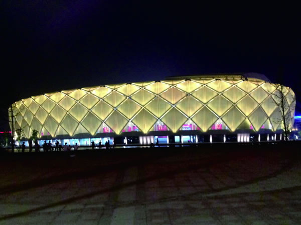 Lotus Stadium also known as Shaoxing Sports Center is located in Shaoxing city of Zhejiang province. It looks like a lotus in full bloom hence the name ... & SIPG Facade Lighting Project   LED Wall Washer   StrongLED azcodes.com