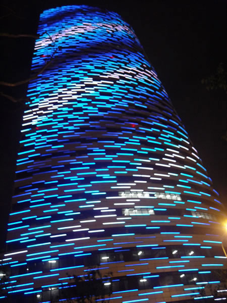 LED Linear Light   Facade Illumination